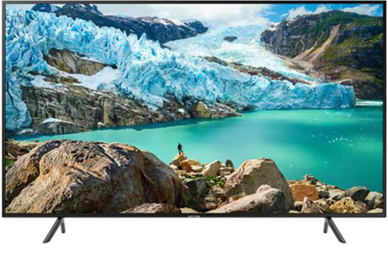 Samsung 55-Inch 4K UHD LED Smart TV UA55RU7100KXZN Black